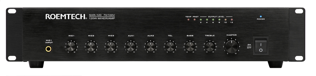 Classroom Audio Systems - Plenum Rated Amplifiers